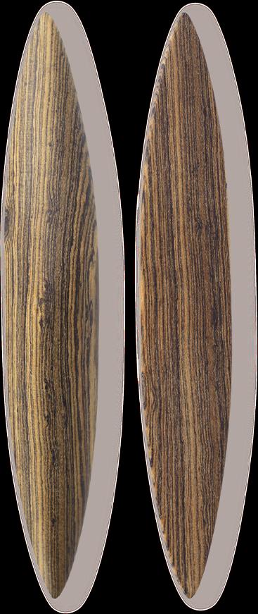 Anagyre en bois rare Palissandre de Bolivie.